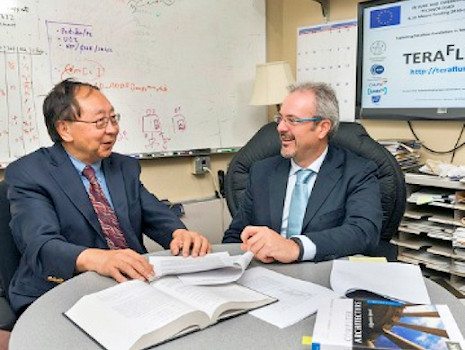 Prof. Gao and Prof. Giorgi.